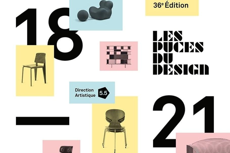 Les puces du design du 18 au 21 mai 2017 for Les puces du design