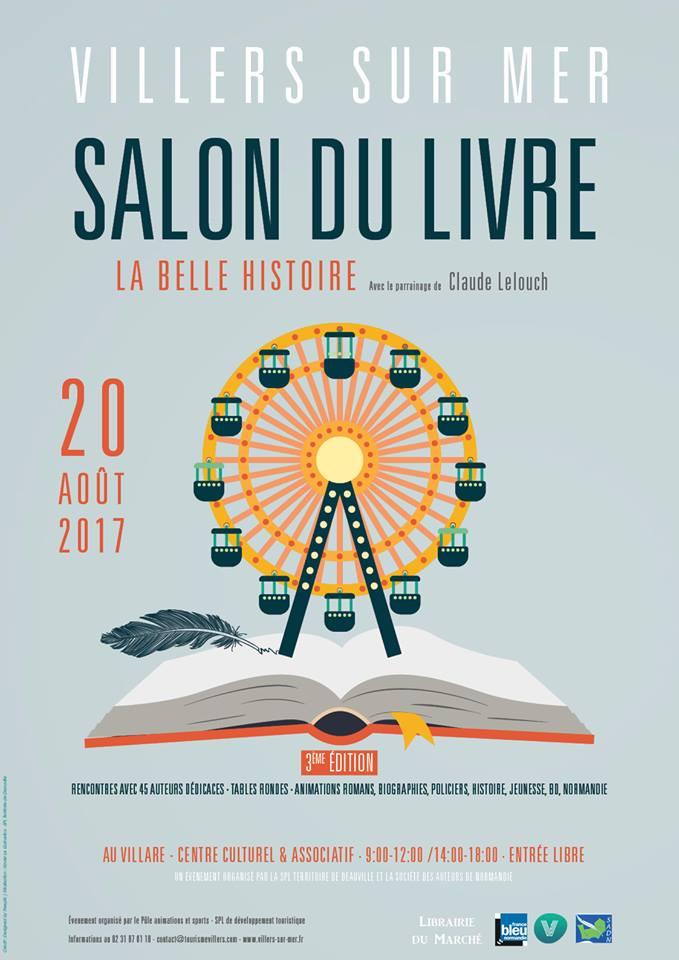 Salon du livre de villers sur mer une belle histoire for Salon du packaging